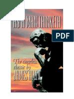 As a Man Thinketh 1902 Edition(Full Permission)