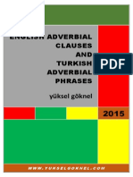 English Adverbial Clauses and Turkish Adverbial Phrases-signed