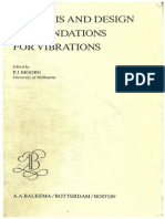 Analysis and Design of Foundations for Vibrations