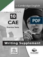 Cae Writing 2015 All Tasks