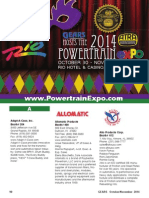 2014 ATRA Powertrain Exhibitor Directory
