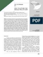 Investigação da atividade Antidiarreico Solanum