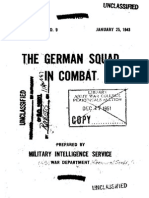 German Squad in Combat
