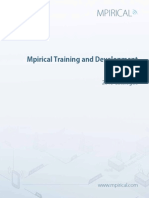 Training & Dev Guide 2015