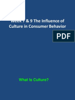 Week 7 9 the Influence of Culture in Consumer Behavior X