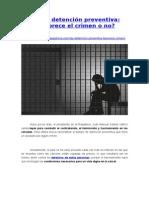 Ley de Detención Preventiva