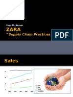 agile supply chain zara case study analysis supply chain  zara supply chain