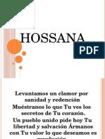 HOSSANA '