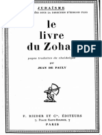 De Pauly Jean - Le Livre Du Zohar