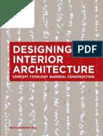 Designing Interior Architecture