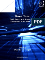 De VOOGHT, Danielle, Royal Taste. Food, Power and Status at the European Courts After 1789