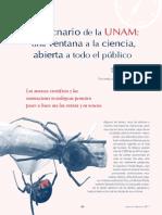 El Aracnario de La UNAM-2