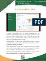 Modulo i Excel 2013 Semana 04