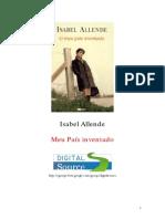 Isabel Allende - Meu País Inventado [Rev]