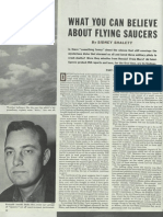 What You Can Believe About Flying Saucers