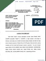 Cooper v. Menu Foods Income Fund et al - Document No. 1