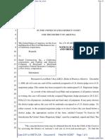 First Call Mechanical, Inc. v. Sundt Construction, Inc. et al. - Document No. 8