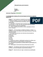Projeto de Lei n 553-2015