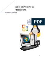 Mantenimiento Preventivo - Software - Hardware