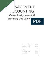 Case 6- University Day Care Centre