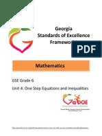 gse math unit 4