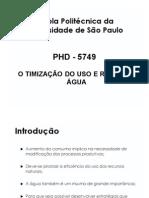 Otimização Do Uso Da Água Na Indústria POLI_2014