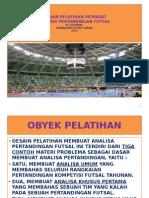 Desain Pelatihan Membuat Analisa Pertandingan Futsal