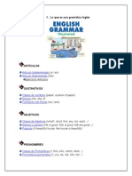 Lo Que Es Una Gramática Inglés