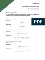 Ecuaciones Adimensionalizadas