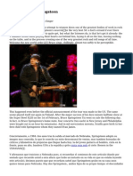 Article   Bruce Springsteen