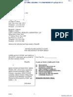 BYERS et al v. MENU FOODS INCOME FUND et al - Document No. 1