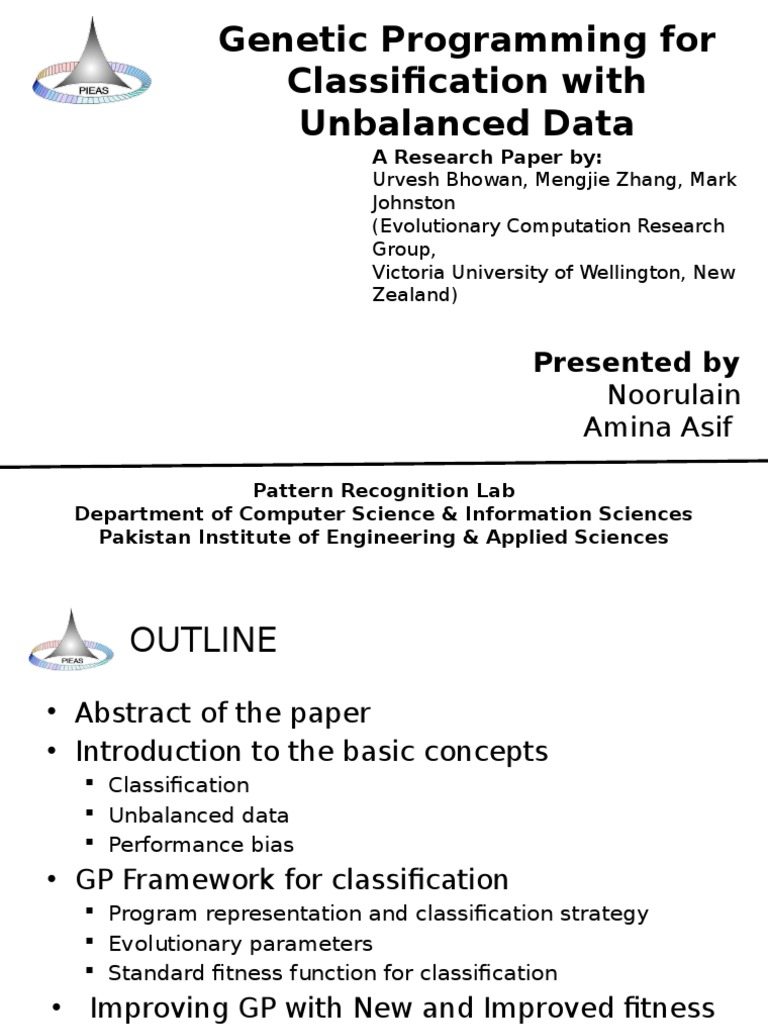 classification of research paper