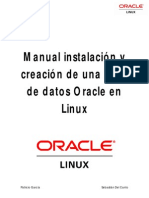 Manual Instalación y Creación BD Oracle
