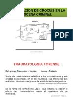 Elaboracion de Croquis en La Escena Criminal