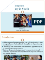 peer influence & delinquency