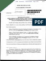 Whaley v. Menu Foods et al - Document No. 8