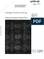 Africa Mining Strategy