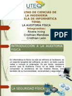 La Auditoria Fisica