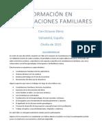 Formación en Constelaciones Familiares - Octavio Déniz