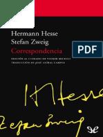 Stefan Zweig, Hermann Hesse Correspondencia