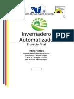 Proyecto Invernadero por PID
