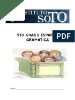 5TO GRADO ESPAÑOL GRAMATICA.docx