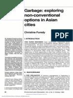 Environment and Urbanization 1992 Furedy 42 61