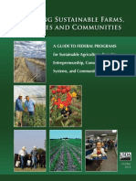 Building Sustainable Farms, Ranches, & Communities
