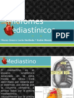 Síndromes mediastínicos - Cardiologia