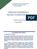 Apuntes Complementarios i Derecho Economico i Unicit 2010(1)