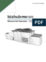 Bizhub Pro 920