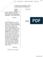 Smith et al v. Parker et al - Document No. 9