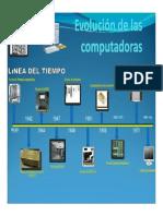 La Evolucion de Las Computadoras