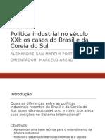 Apresentação TCC Política Industrial